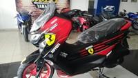 Yamaha Nmax Beraroma Italia, Pakai Kelir Ferrari