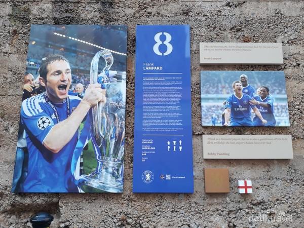 Foto Frank Lampard saat menjadi juara Liga Champions bersama Chelsea