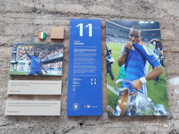Didier Drogba pemain asal Pantai Gading yang bersinar  bersama Chelsea
