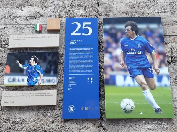 Salah satu legenda Chelsea asal Italia Gianfranco Zola