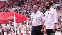 Anies: Kita Lebih Cepat Sebulan dari Target Jokowi Vaksinasi 7,5 Juta Orang