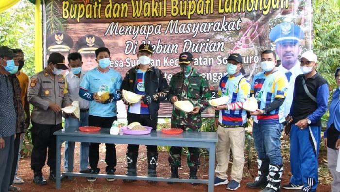 Kebun Durian, Optimis Kebangkitan Ekonomi Dari Desa Agrowisata Lamongan