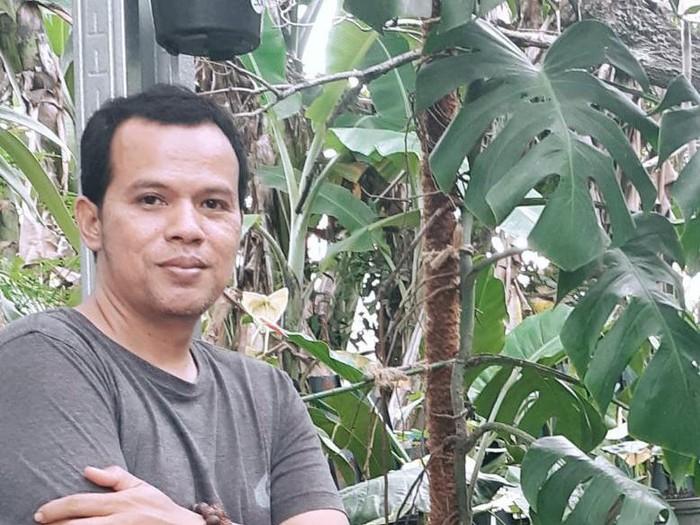 Kisah Miftakhur Rokman terdampak pandemi, kini sukses menjalani bisnis taaman hias.