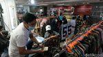PPKM Kembali Berlaku, Pasar Tanah Abang Jadi Sepi