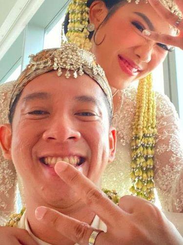 alika islamadani resmi menikah