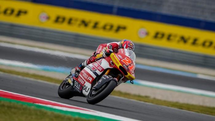 Fabio Di Giannantonio tak maksimal di Moto2 Belanda.