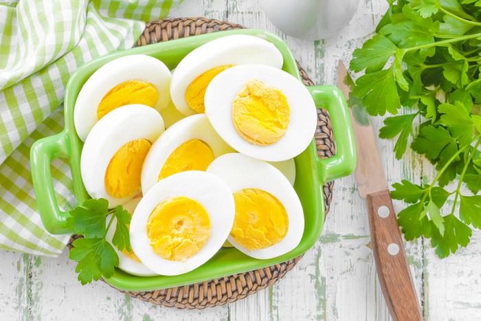 Hidangan telur dan jumlah kalorinya