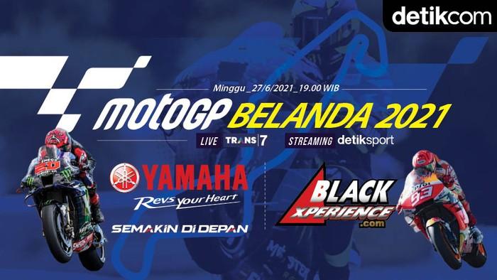Infografis MotoGP Belanda 2021
