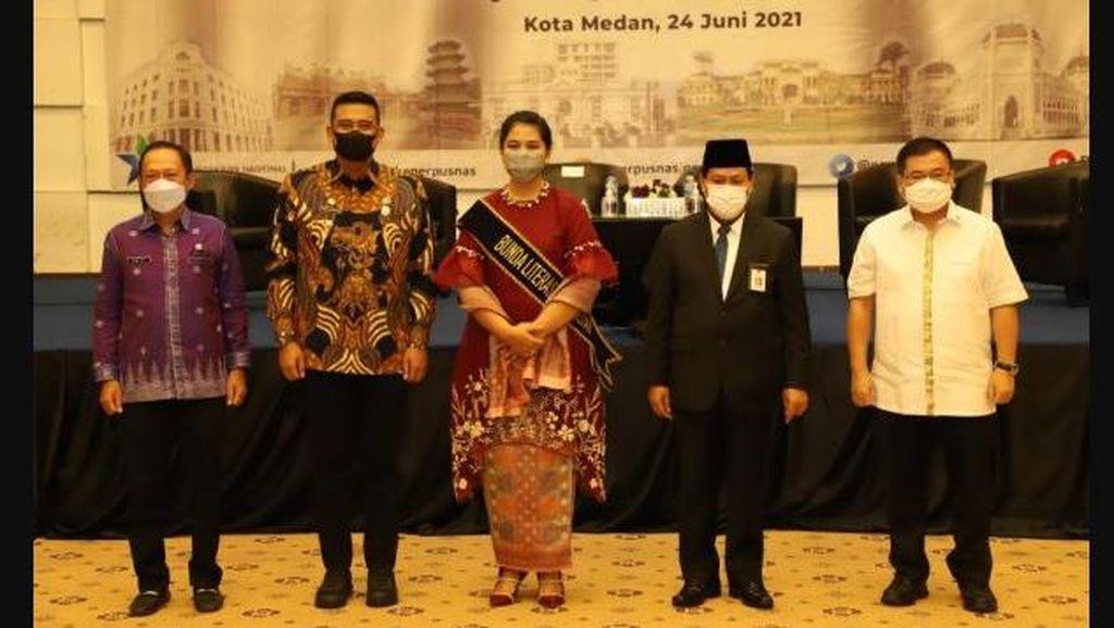Kahiyang Ayu Diangkat Jadi Bunda Literasi Kota Medan, Ini Tugasnya