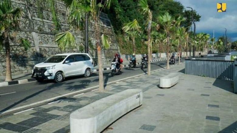 Pembangunan infra di Labuan Bajo.