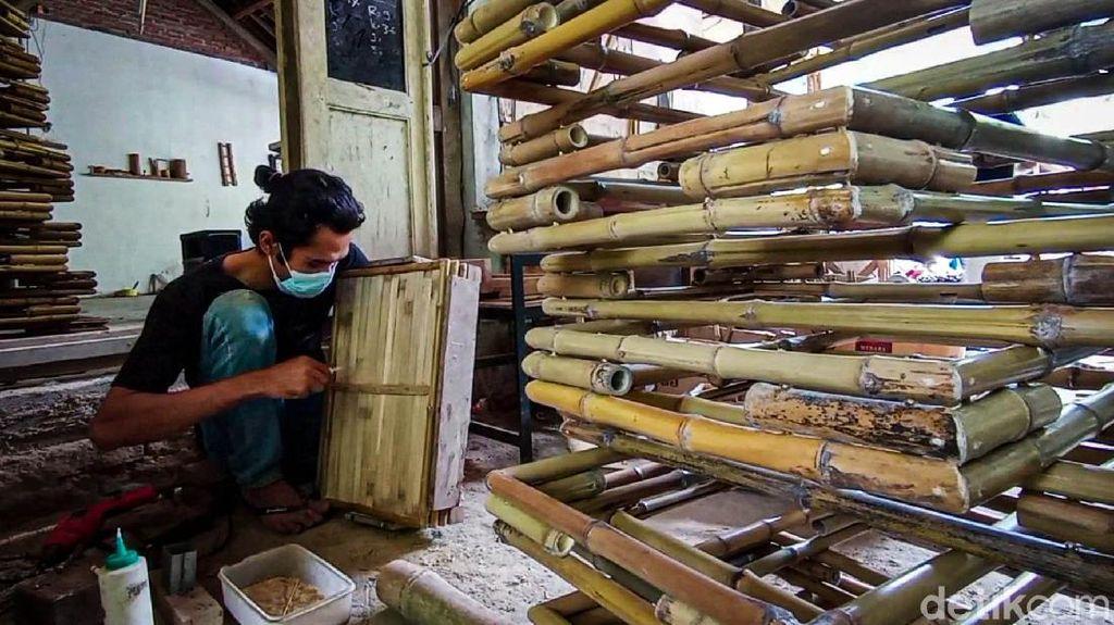 Nampan Bambu Asal Kulon Progo Ini Diminati Pasar Belanda