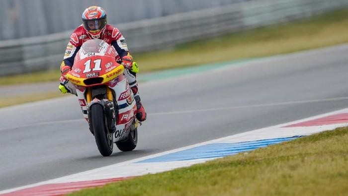 Nicolo Bulega bersiap balapan yang sulit di Moto2 Belanda.