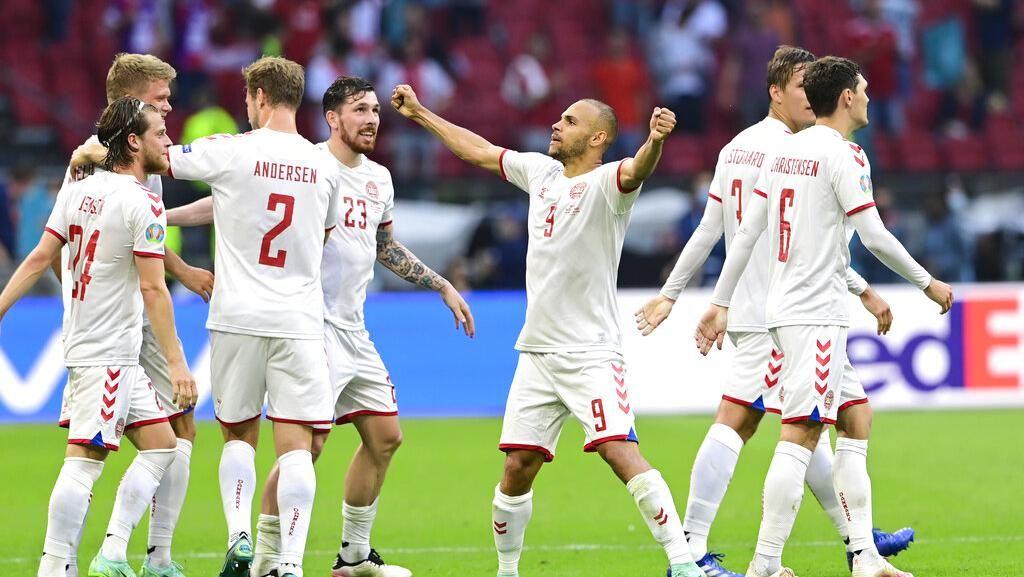 Denmark Libas Wales 4-0 dan Bikin Rekor di Euro 2020
