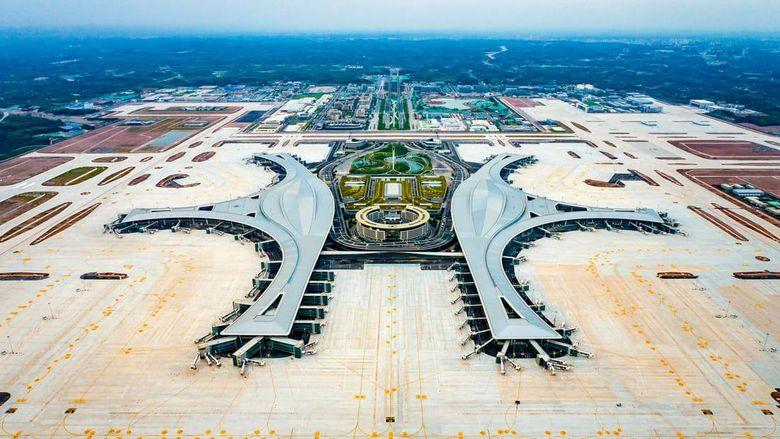 Bandara Internasional Tianfu Chengdu China
