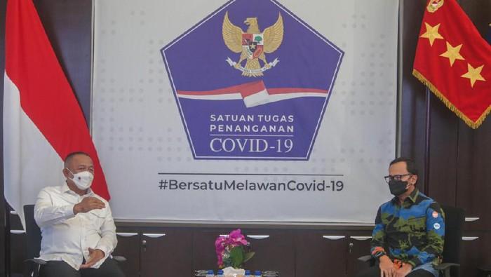 Bima Arya Bertemu Kepala BNPB