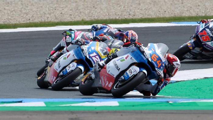 Bo Bendsneyder andalan tim Pertamina Mandalika SAG di Moto2 2021.