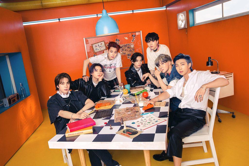 BTS untuk CD Butter