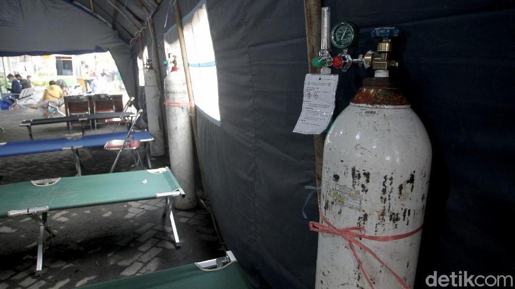 RS Kritis Stok Oksigen, 33 Pasien Covid-19 Meninggal Dunia