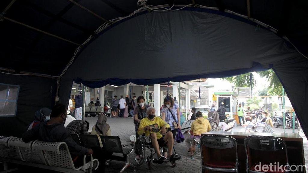 Corona Ngegas di Yogyakarta, RS Sardjito Dirikan Tenda Darurat