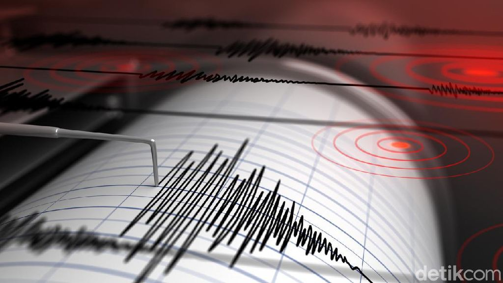Suasana Kepanikan Warga saat Gempa Guncang Tojo Una-Una Sulteng