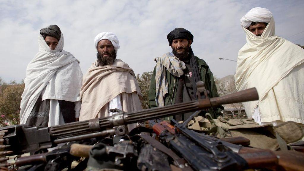 Taliban Kuasai Sebagian Besar Wilayah Afghanistan