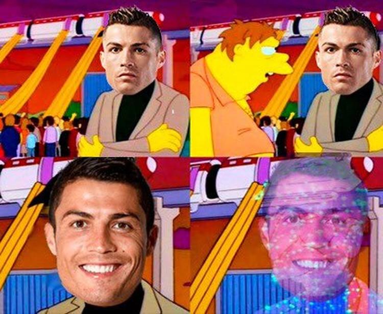 Meme Ronaldo Saat Portugal Kalah di Piala Euro 2020