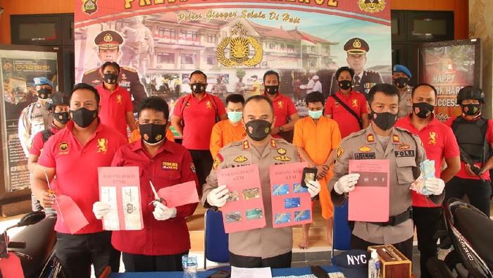 Pembobol ATM lintas provinsi ditangkap di Bali (dok. Istimewa).