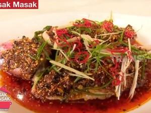 Masak Masak : Ikan Kakap Kukus Saus Mala ala Restoran yang Sedap