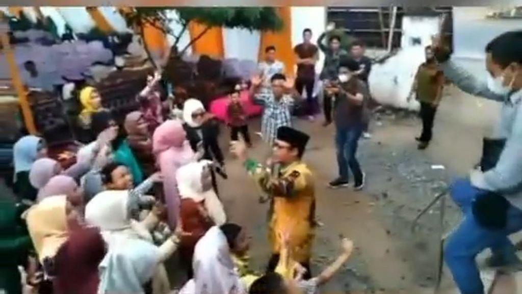 Hukuman Bersih-bersih Wabup Ardito Sebab Joget Tanpa Masker di Hajatan