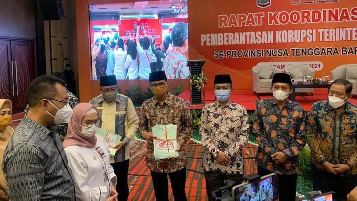 Wakil Ketua KPK Lili Pintauli Siregar di NTB