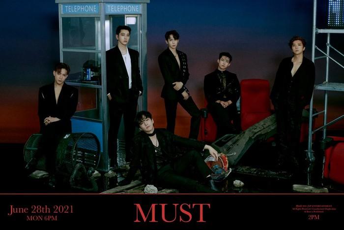 2PM untuk album MUST