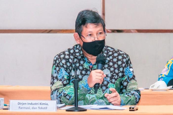 Direktur Jenderal Industri Kimia, Farmasi, dan Tekstil (IKFT) Kemenperin Muhammad Khayam