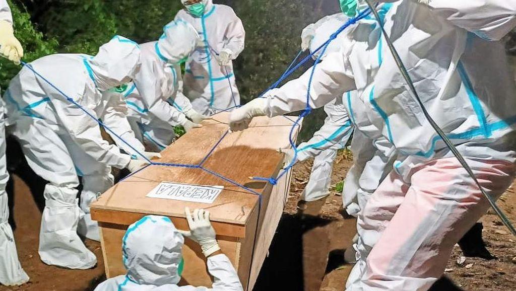 504 Orang Meninggal Dunia, Kematian COVID-19 1 Juli Catat Rekor Tertinggi