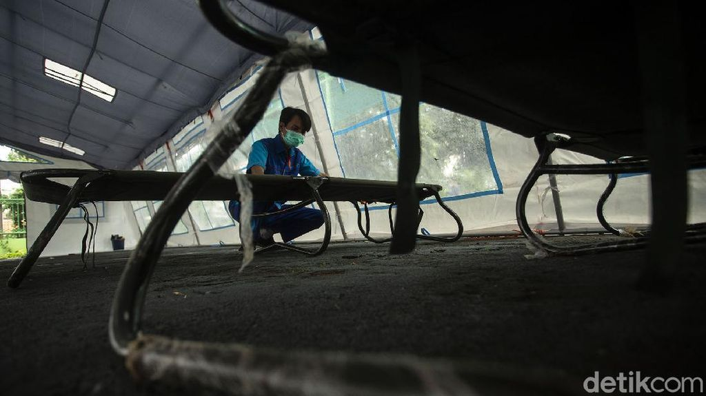 RSUD Tarakan Penuh, Kini Tenda Isolasi Sasar Sekolah Dasar
