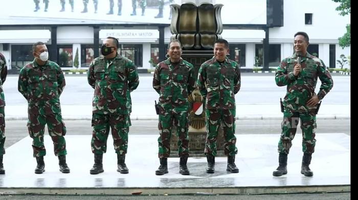KSAD Jenderal Andika Perkasa memanggil dandim gembrot.