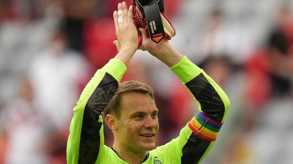 Inggris Vs Jerman: Neuer dan Kane Sepakat Pakai Ban Kapten LGBTQ+