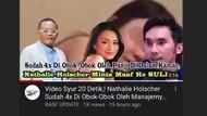 Kronologi Heboh Hoax Video Syur 20 Detik Nathalie Holscher