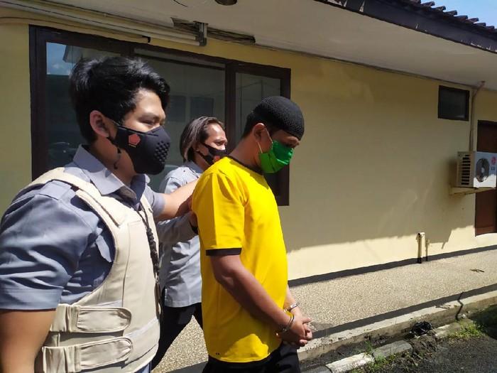 Pelaku penipuan di Bandung.