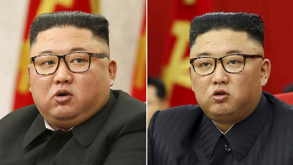 Potret Kim Jong-Un yang Terlihat Lebih Kurus