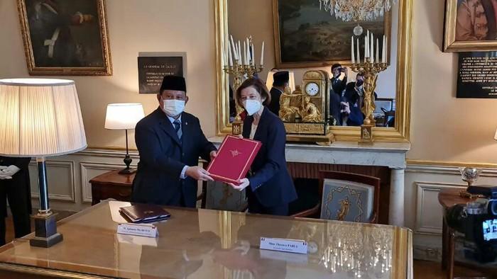 Prabowo Subianto kunjungan kerja ke Paris Prancis