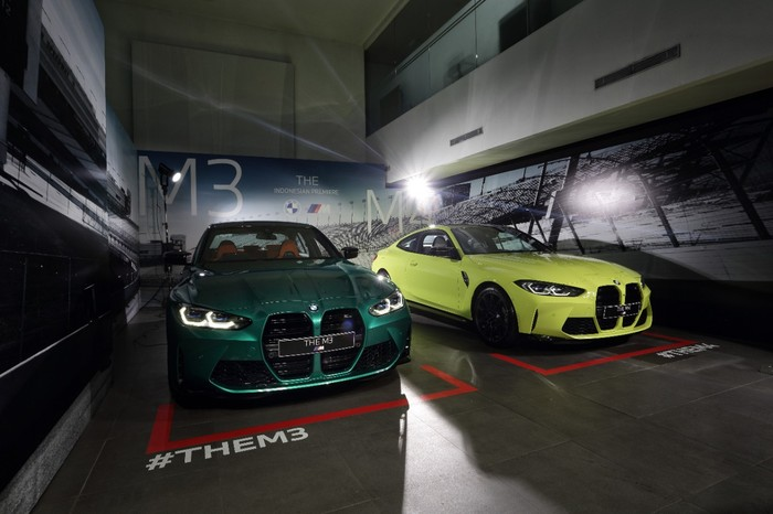 BMW M3 Competition dan BMW M4 Competition meluncur di Indonesia.