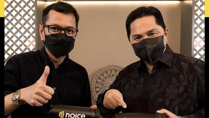 Agar bisa terus memanjakan penikmat konten audio, Noice terus menambahkan nama-nama baru pada konten podcastnya. NOICE menggaet mantan Menteri Pariwisata dan Ekonomi Kreatif Wishnutama untuk meluncurkan podcast pribadinya.