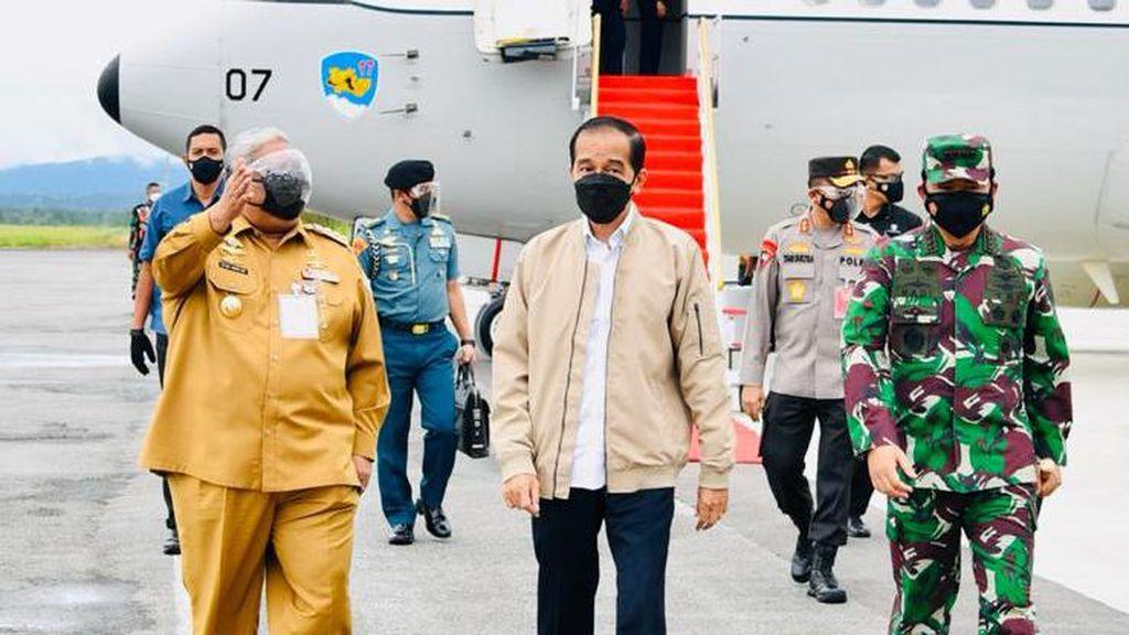 Kunker ke Sultra, Jokowi Ingin Pastikan Pemda Aktif dalam Penanganan COVID