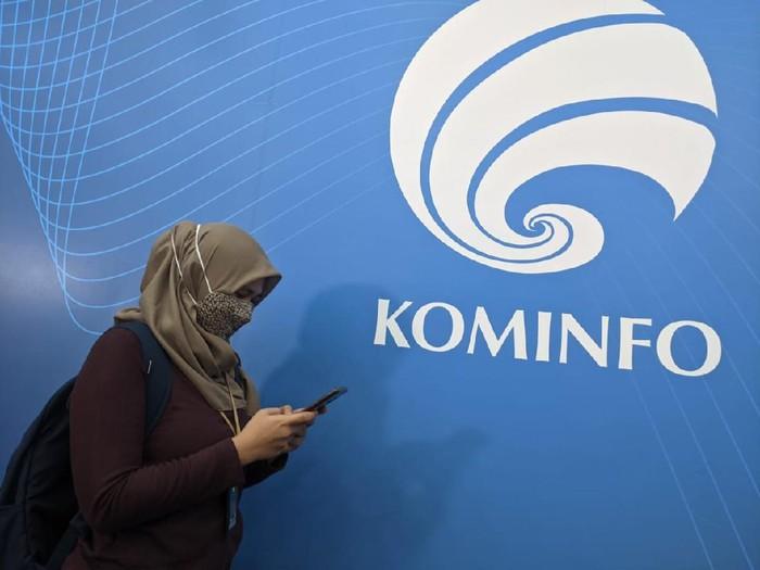 Logo Kementerian Komunikasi dan Informatika (Kominfo).