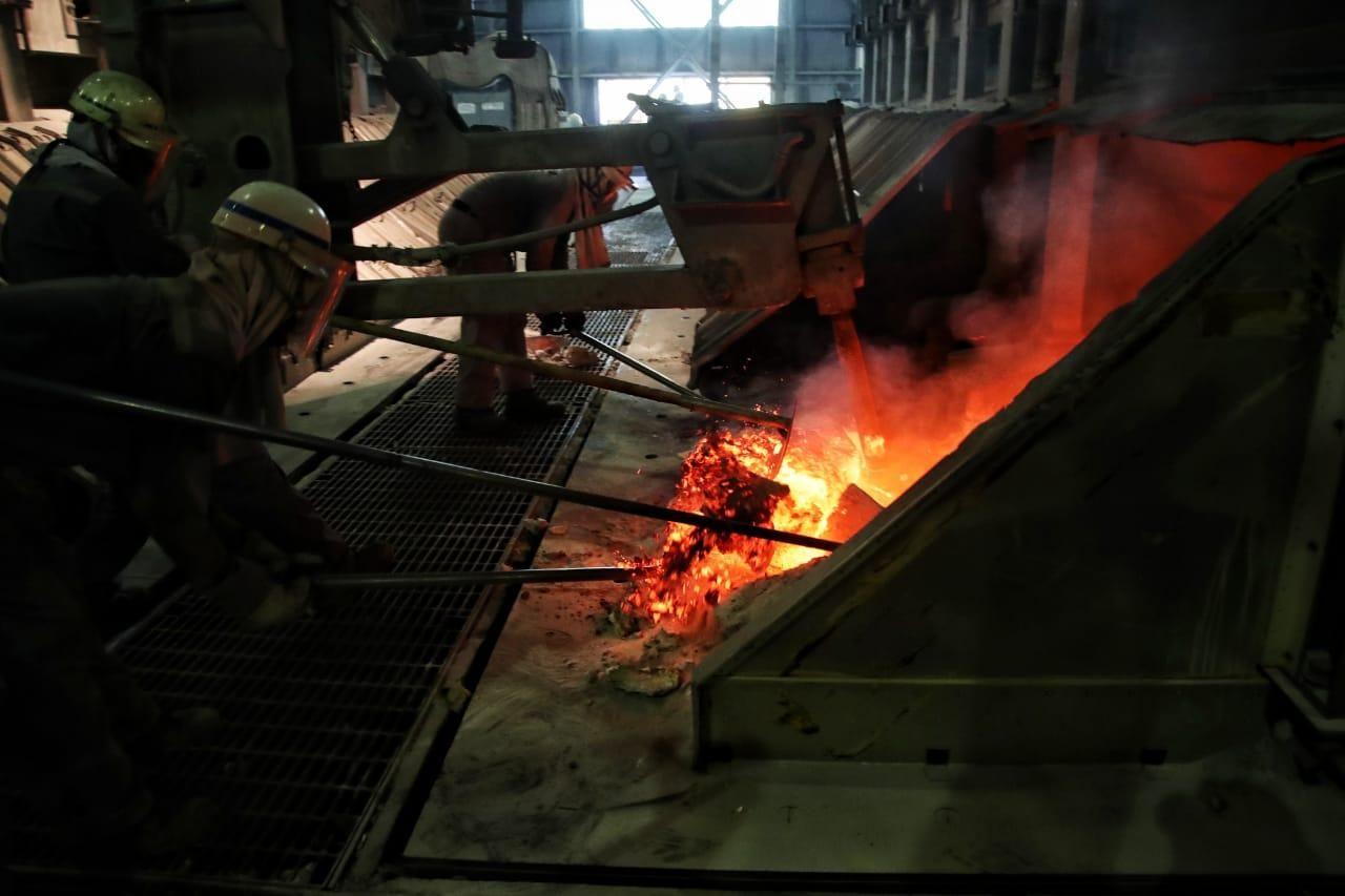 Pabrik Inalum di Kuala Tanjung