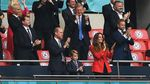 6 Potret Pangeran George Nonton Pertandingan Inggris vs Jerman di Euro 2020