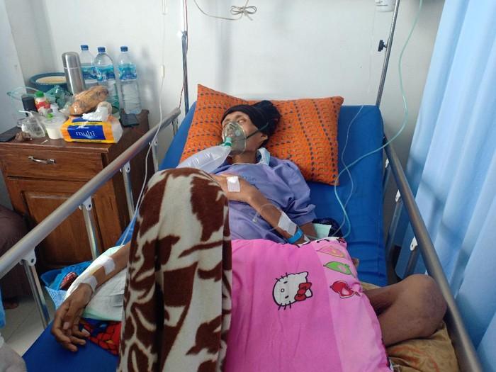 Pemuda Nganjuk 9 bulan kanker kerongkongan