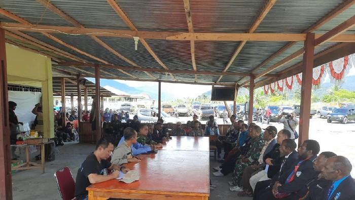 Polisi gelar pertemuan dengan tokoh agama dan tokoh masyarakat Yalimo