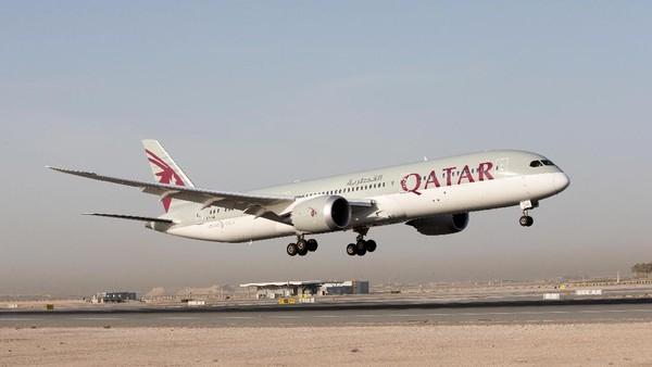 Peringkat pertama ditempati oleh Qatar Airways. Maskapai berhasil menggeser Air New Zealand yang enam kali menduduki urutan pertama. (dok. Qatar Airways)