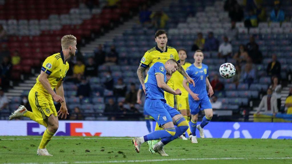 Hasil Swedia Vs Ukraina: Menang, Zbirna Tantang Inggris di 8 Besar